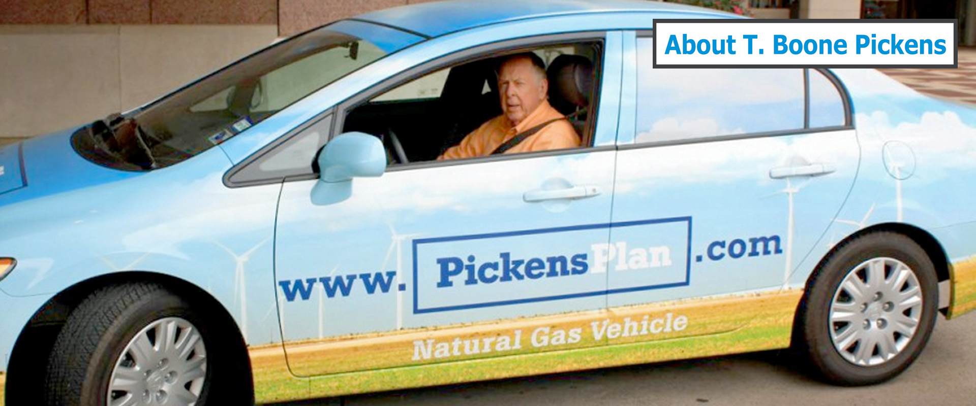 About T. Boone Pickens